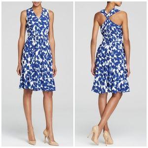 NWT Kate Spade | Blue & White Twist Garden Dress 6